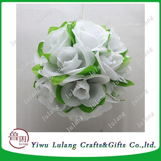 China silk rose flower kissing balls large hanging ball christmas silk rose flower kissing balls large hanging ball christmas wedding mightylinksfo