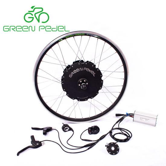 China Greenpedel 36v 500w 48v 750w Electric Bike Gearless Hub Motor