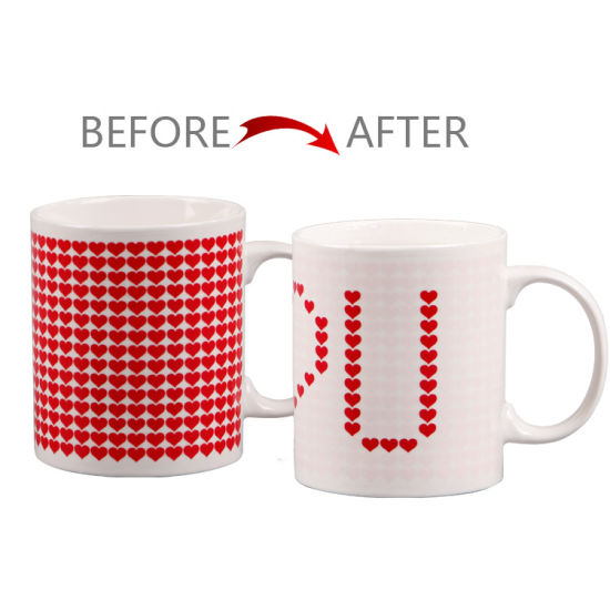 China Personalized Hot Water Custom Color Changing Mugs China