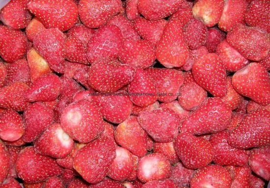 2020 New Crop Wholesale Frozen IQF Fruits Red Fresh Strawberry