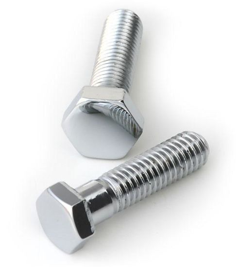 DIN933 DIN931 Zinc Plated Hex Bolts with Full Thread