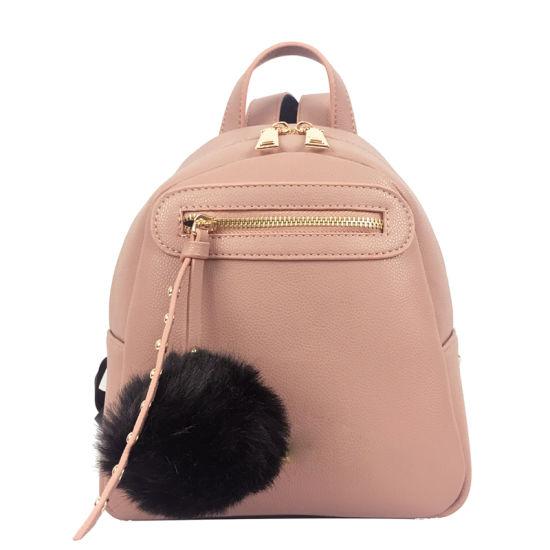 China 2019 Fashion Style PU Leather Girls Small Backpacks - China ... 5cba48dee0e7d