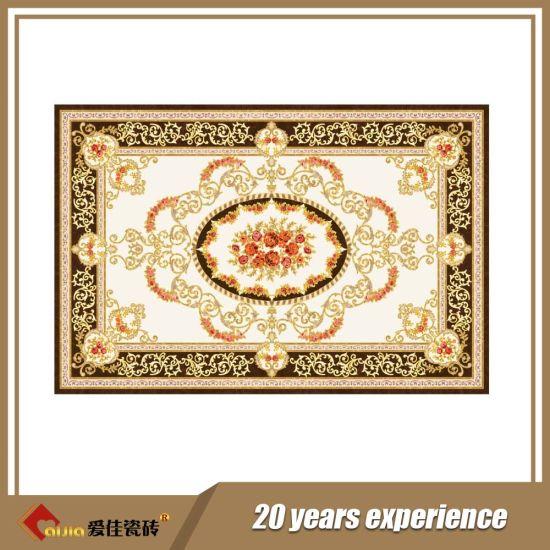 China 600 600mm Beautiful Golden Carpet Floor Tiles In India