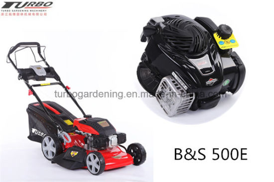 21 Inch Self Propelled Chinese Engine with Electric Start