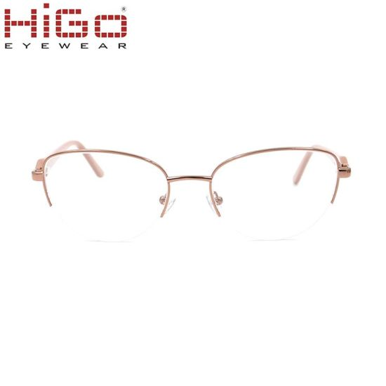 7f226d726190 Metal Spectacles for Men Glasses Optical Half Rimless Eyeglass Frame Eyewear.  Get Latest Price