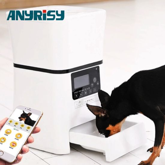 5l Smart Pet Product Two Way Talk Feeder With Camera Monitor For Dry Wet Food