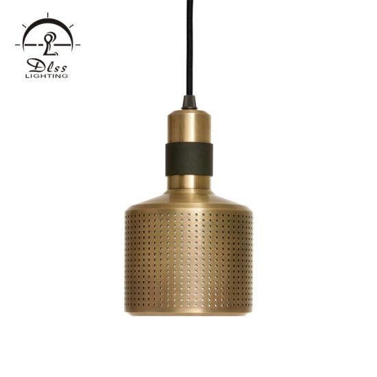 Modern Lamp Gold Color Aluminium Material E14 Lighting Source Decorative Lighting