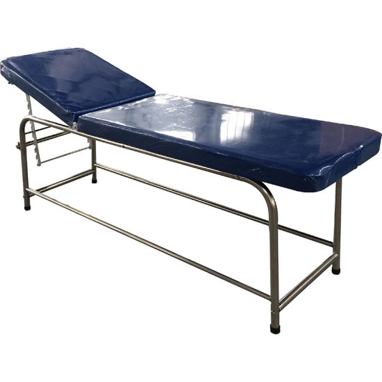 Manual Adjustable Gynecology Medical Examination Bed pictures & photos