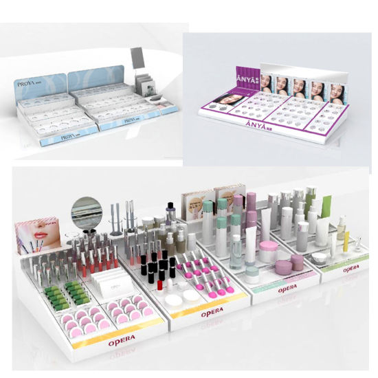 Costom Countertop Promotion Massage Oil Rack Acrylic Essential Oil Cosmetic Display Stand for Store