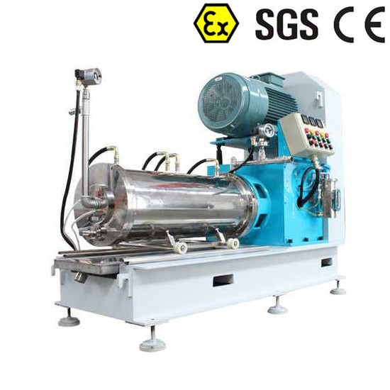 Horizontal Bead Mill Sand Mill Media Mill Pearl Basket Mill for Paint, Coatings, Inks Grinding