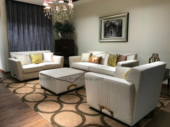 China Beige Sofa With Modern Style For