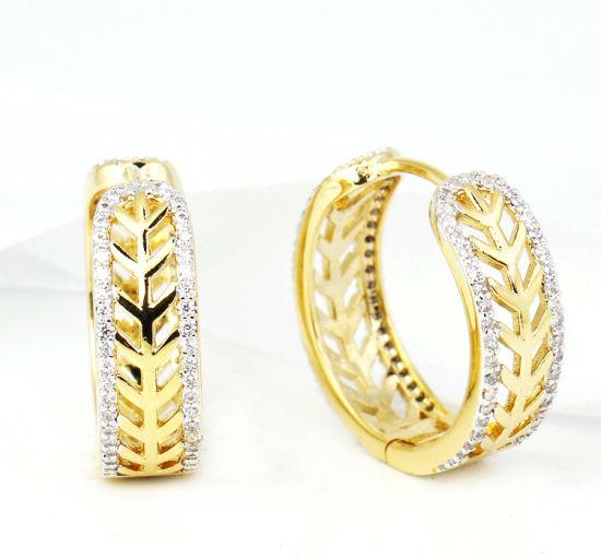 0017c31a4 imitation Jewellery Swarovski Crystal Jewelry Destiny Hoop Earrings  pictures & photos