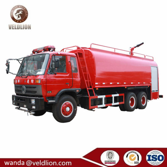 DFAC 10 Wheels 15000 Litres or 15ton Heavy Water Tank Fire Truck with Water Sprinker