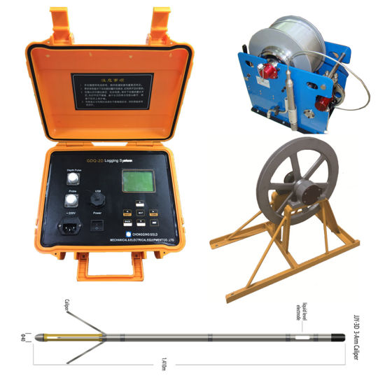 China Multi-Parameters Intelligent Well Logging Tool, Water