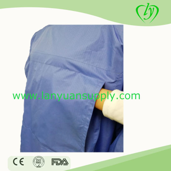 Anti-Static, Waterproof Surgical Gown with High Quality for Doctor Used pictures & photos