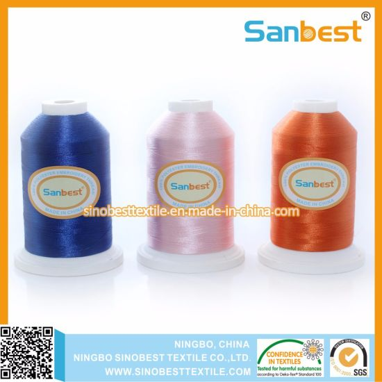 100% Polyester Embroidery Thread for Embroidery