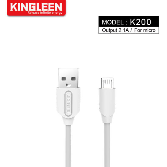 China Factory Mobile Phone Accessories 1m USB Cable for Micro