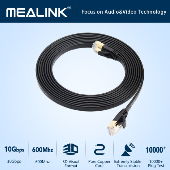RJ45 Network Flat Cat7 Ethernet Cable pictures & photos