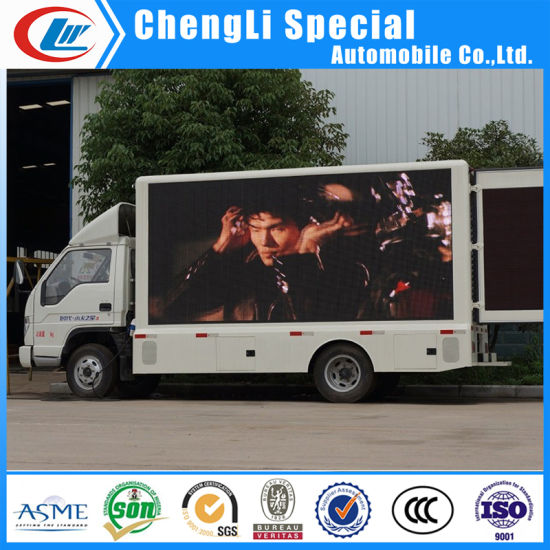 Full Color Double Side P10 High Definition LED Screen Truck pictures & photos