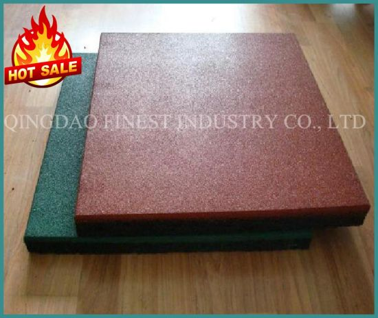 High Quality Outdoor Playground Cheap Rubber Tiles Flooring for Wholesale