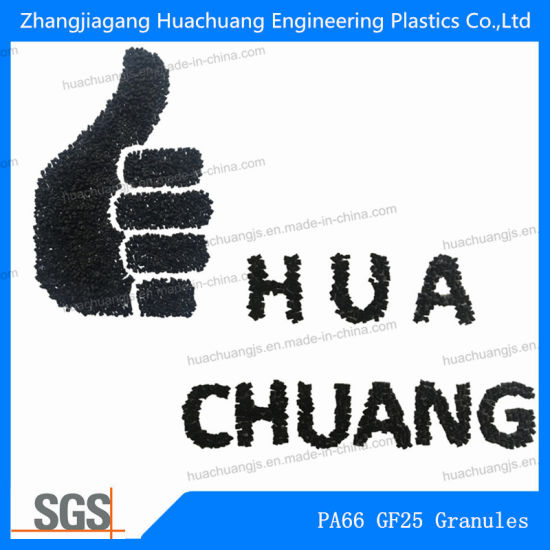 Recycled PA66 Pellet With25% Glass Fiber