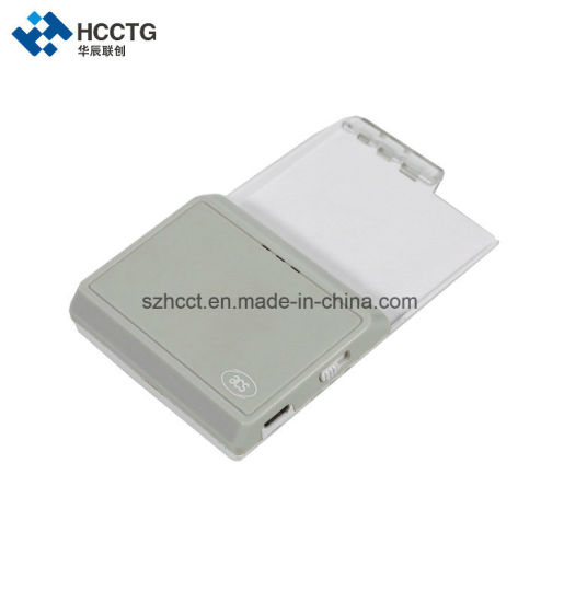 USB Smart Card Reader ACR3901 Acs Iso 7816 Bluetooth Contact Ic Chip Card Reader