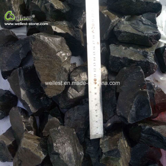 Black Basalt Gravel and Crushed Stone for Driveway, Path and Garden