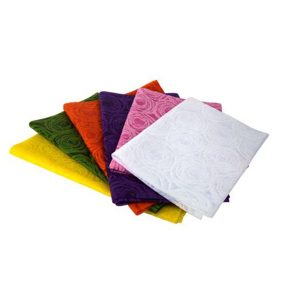 Wholesale Eco-Friendly Disposable Non-Woven Tablecloth PP Material Nonwoven Fabric
