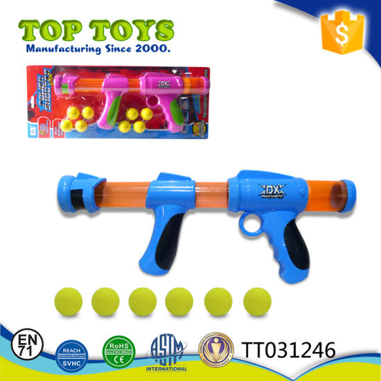 EVA Balls Soft Bullet Gun Shooting Toy (Two colors) pictures & photos