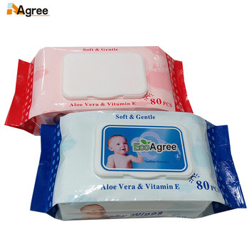 OEM Disposable Wet Towel for Cleaning Baby Purified Wipes