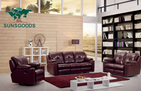 Double Recliner Chesterfield Sofa Set