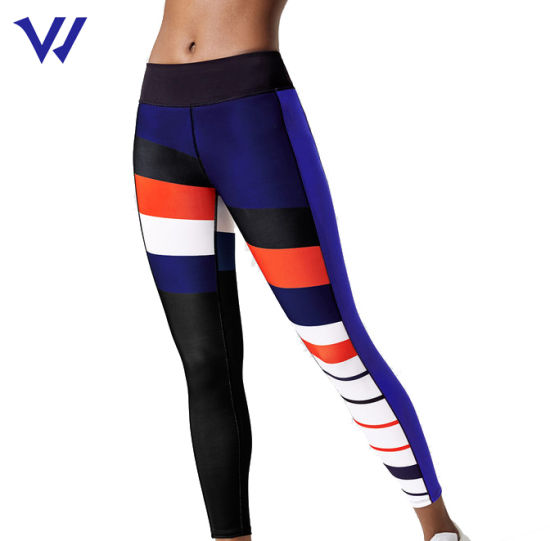 Customized Printing Leggings Fitness 2020 High Waisted Workout Leggings Women with Logo Two Piece Sets Women Clothing