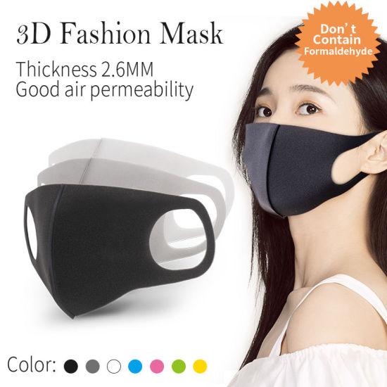 Free Shipping Japan Japanese Korea Style Ice Silk fashion Handmade Cloth Muslim Washable Reusable Premium 100% Cotton Mask with Filter Pocket