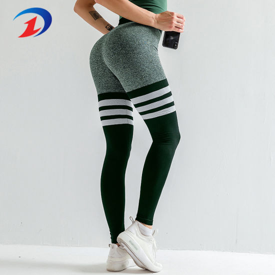 China Workout Women Seamless Yoga Legging Gym Clothes China Seamless Leggings And Stripe Seamless Leggings Price