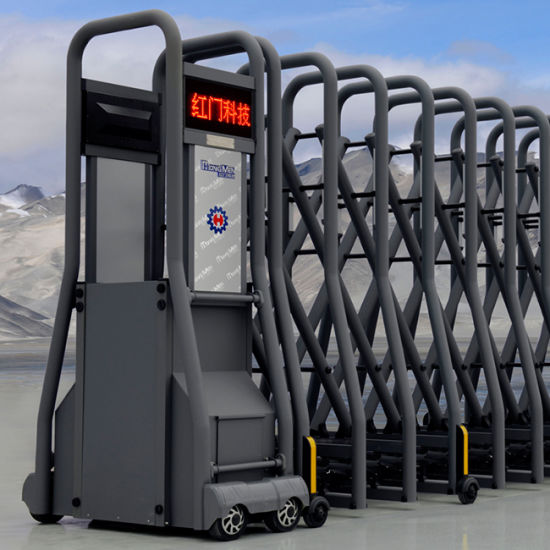 Automatic Retractable Safety Gate with Ce Certification