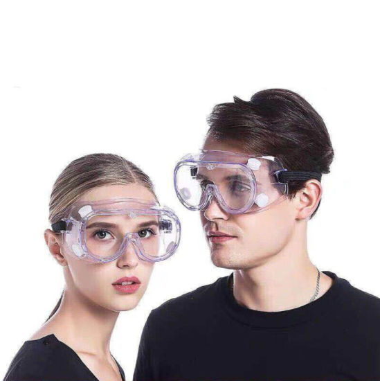 Dust-Proof and Epidemic Proof Medical Grade Four-Bead Goggles pictures & photos