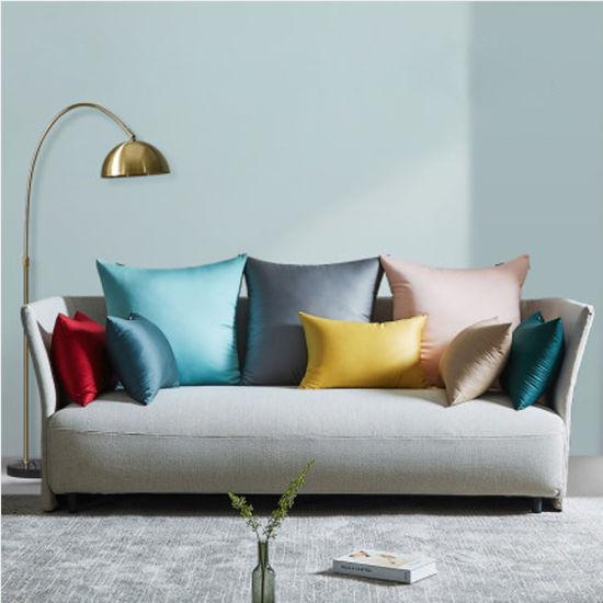 Sofa Pillows Microfiber Throw Cushions