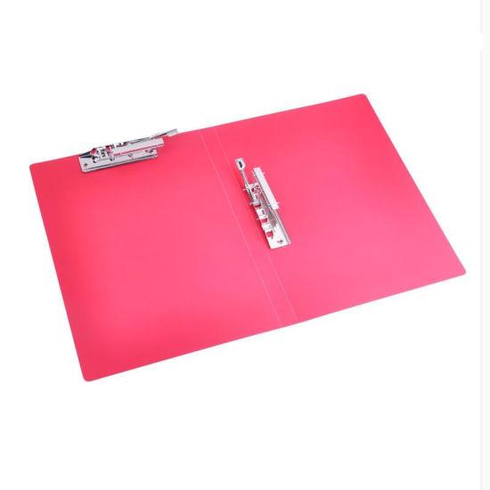 Transparent File Folder with Clip (VFF5)