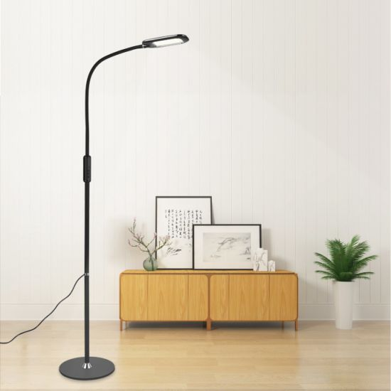 Dimmable Adjustable Reading Floor, Reading Floor Lamps For Living Room