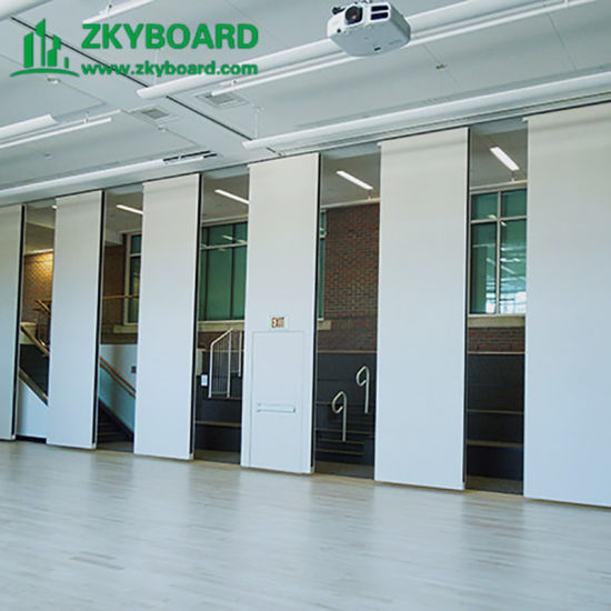 Factory Sliding Partition Wall for Classroom Gypsum Board Function