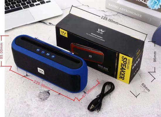 China Portable Tws Bluetooth Speaker Wsa-850, with TF/USB/FM ...