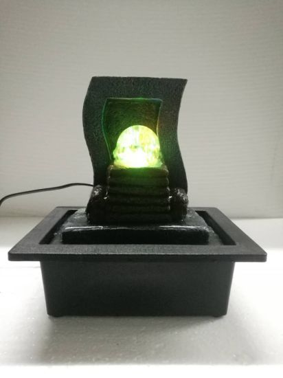 Polyresin Desktop Water Fountain With Led Light Indoor Home Ornaments China Polyresin Fountain And Polyresin Desktop Water Fountain Price Made In China Com