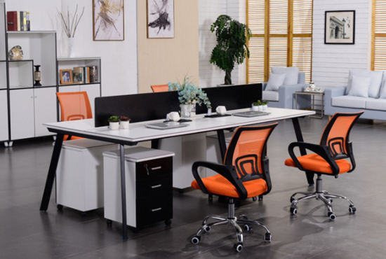 Office Furnishing Furniture Standing Table Modular Partition Desk Office Workstations