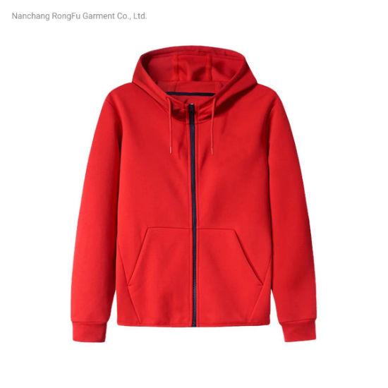 Men's Sport Coat Classic Hoodie Knit Top Fashion Slim Men's Casual Coat