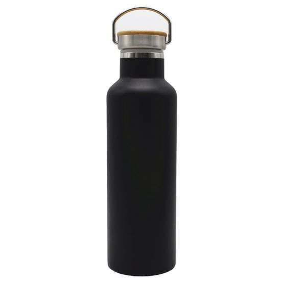 750ml Bullet Shaped Flask Double Wall Stainless Steel Insulated Bullet Vacuum Flask