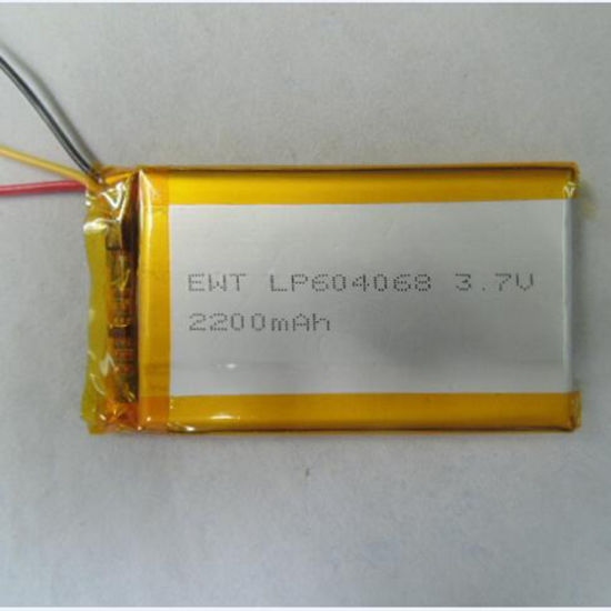 Safety Polymer Battery Ewt Lp604068 2200mAh for Printers/Note Book