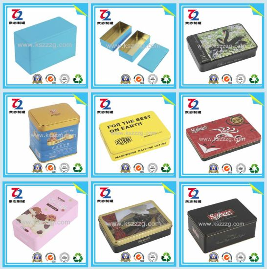 Rectangle Tin Box for Candy/Chocolate pictures & photos