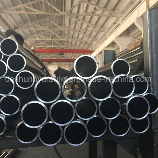 St52 Precision H8 Seamless Tube Cold Drawn Inner Hole Honing Honed Tube for  Dum Truck Hydraulic Cylinder