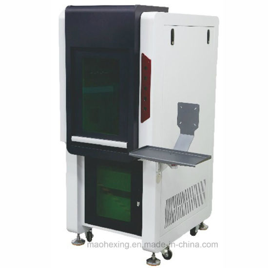 Machine Parts Optical Fiber Laser Marking Enclosed Case