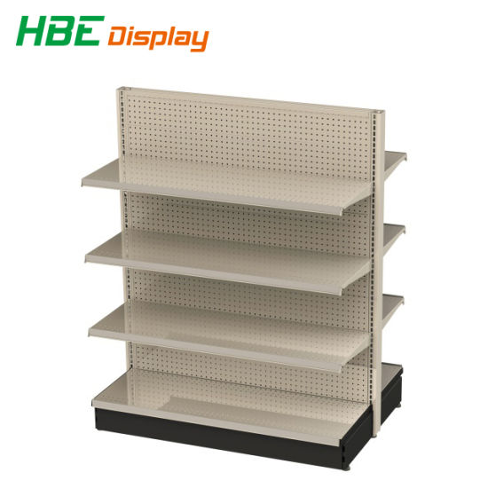 Highbright Heavy Duty American Gondola Shelving with Price Strip pictures & photos